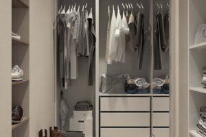 Comment désencombrer les vêtements dans votre placard